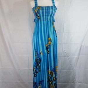 Julia maxi sleeveless summer dress